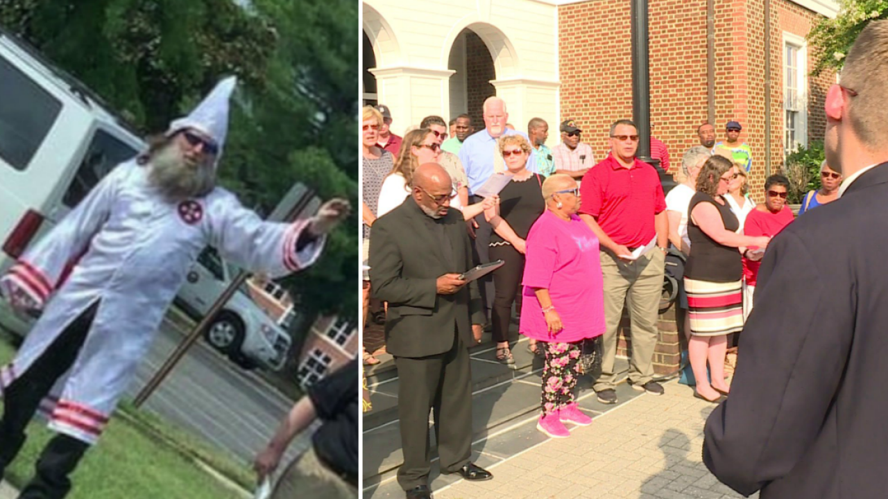 Hanover religious leaders, residents urge Board of Supervisors to condemn KKKrally