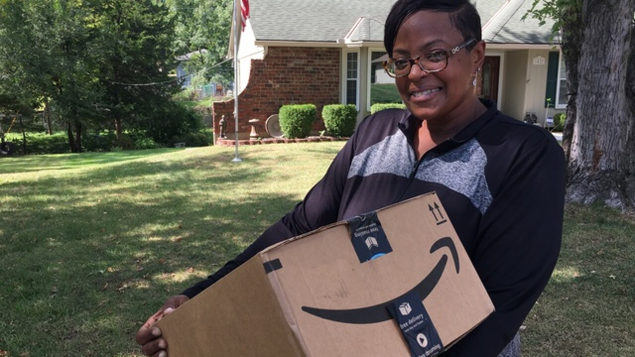 Creative delivery driver in KCK sheds 100 pounds