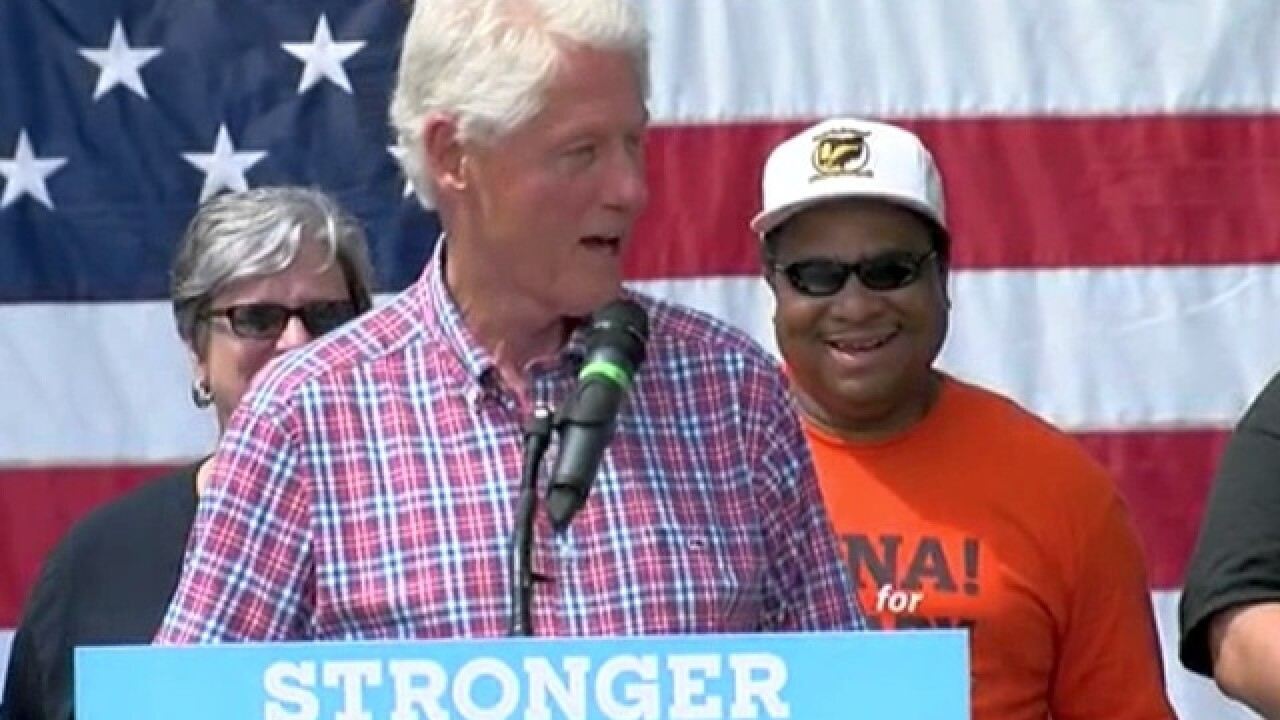 LIVE: Bill Clinton at Cincy's Labor Day Picnic