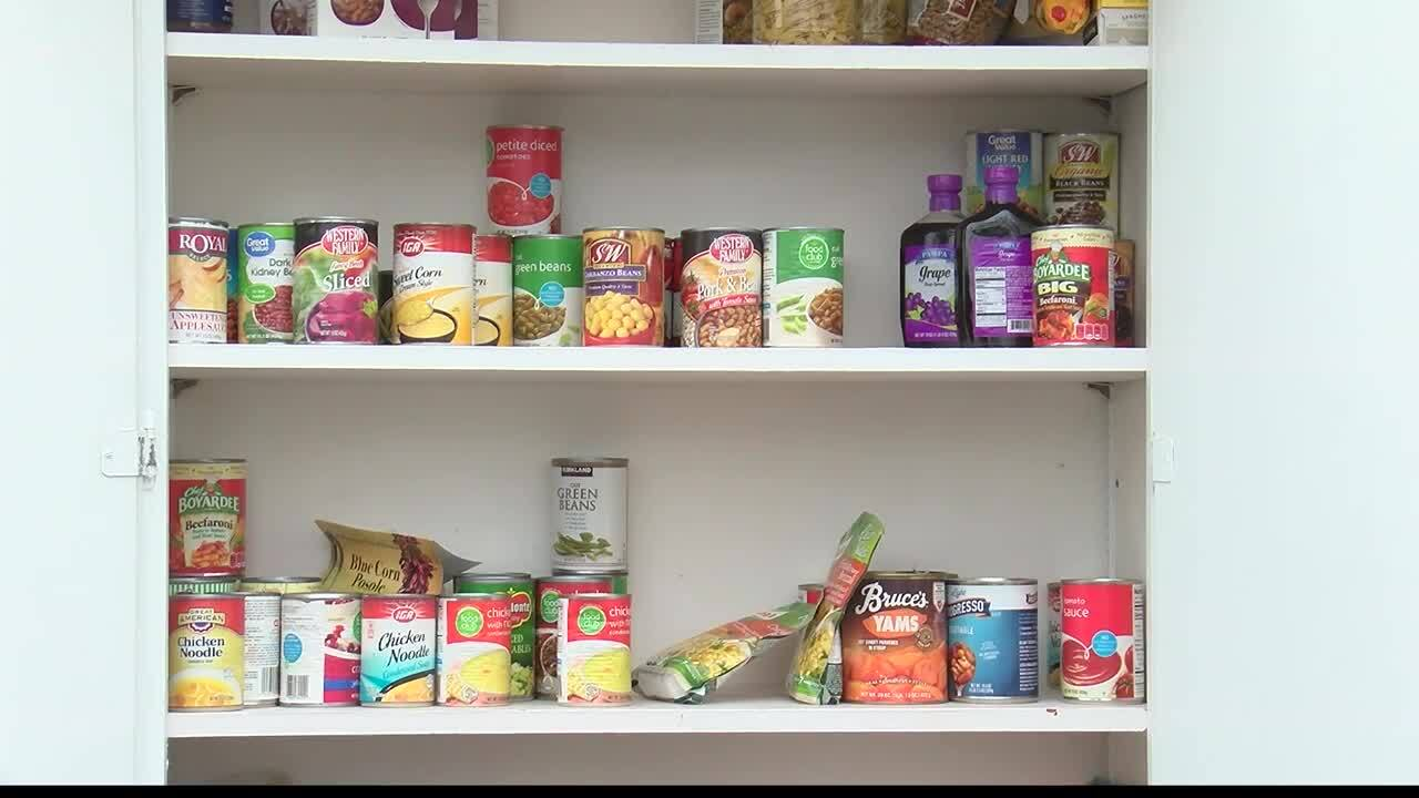 Florence Little Free Food Pantry helping residents in times of need