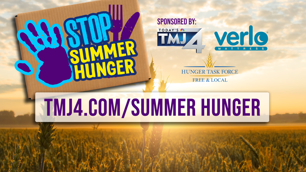 Stop Summer Hunger in Milwaukee