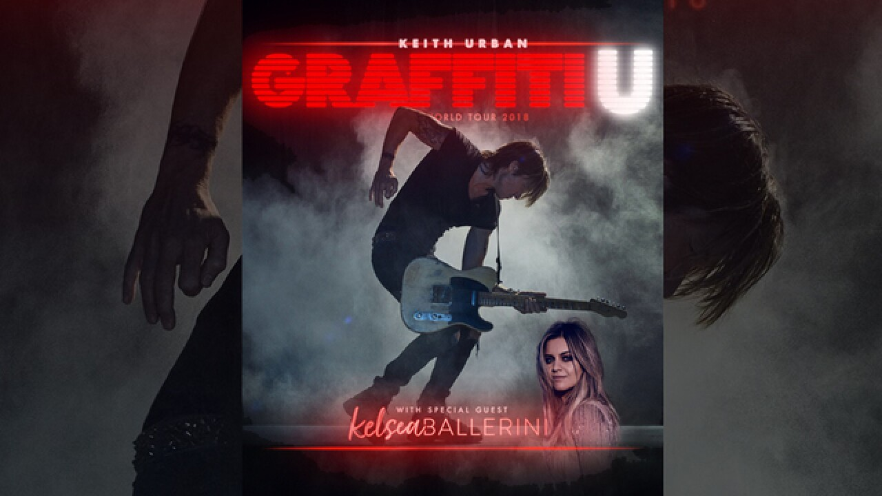 Keith Urban Announces 'Graffiti U' Album, Tour At Exit/In Show