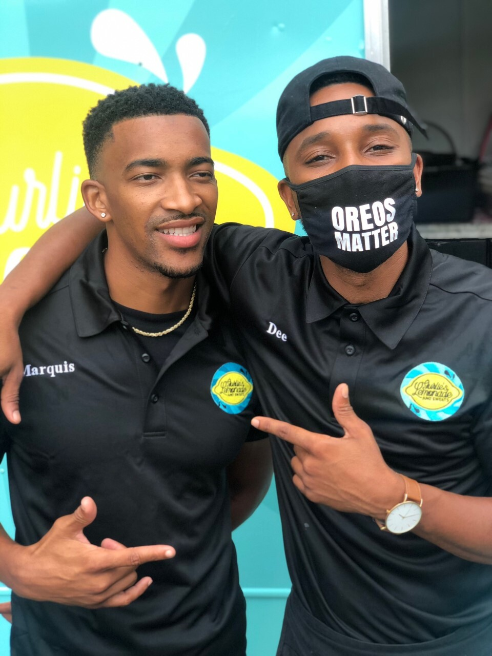 Demetrius Murray and Marquis Williams create slogan Oreos matter