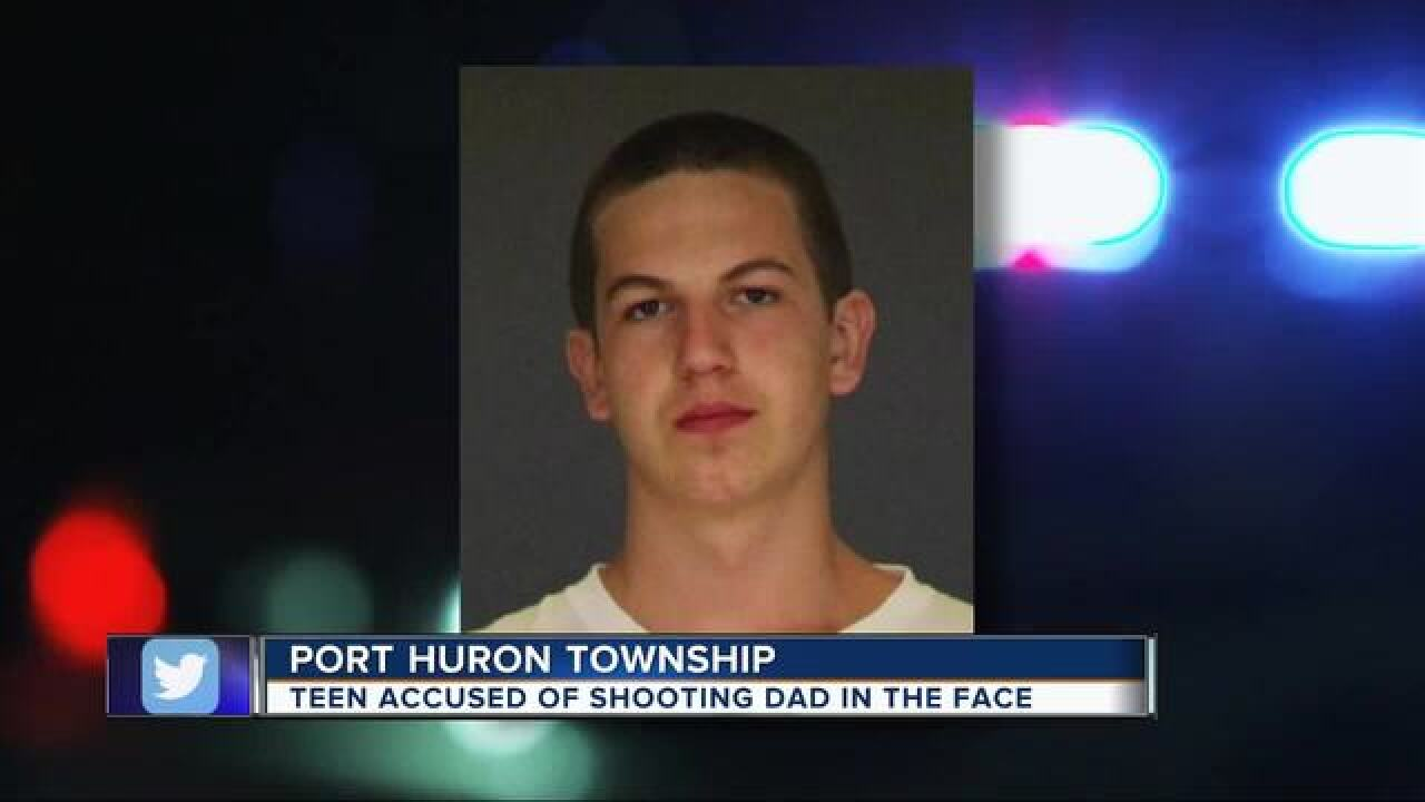 Shooting suspect on run in Port Huron Twp.