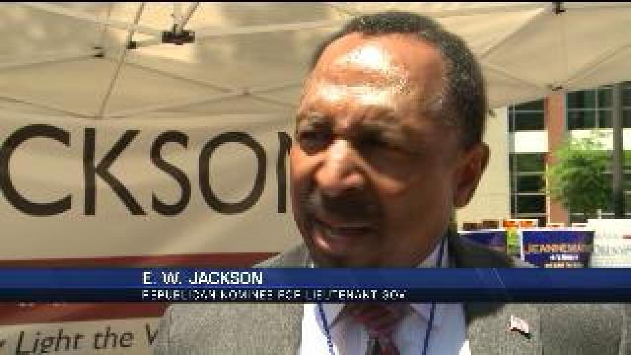 Democratic candidates react to E.W. Jackson's GOP Nomination