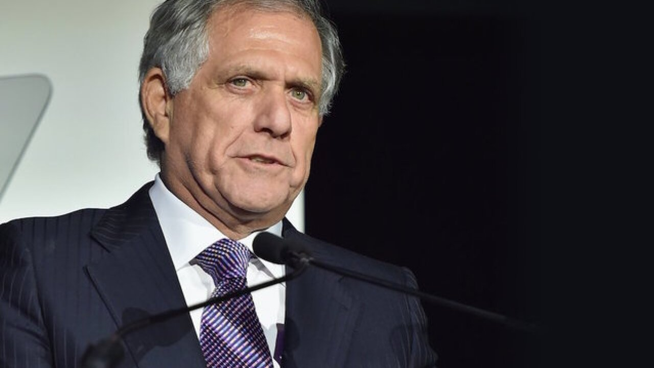 CBS chief executive Les Moonves has resigned