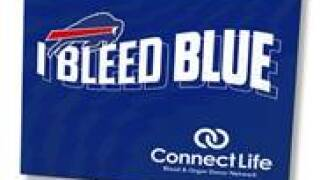 Bills partnering with ConnectLife to increase blood donations.