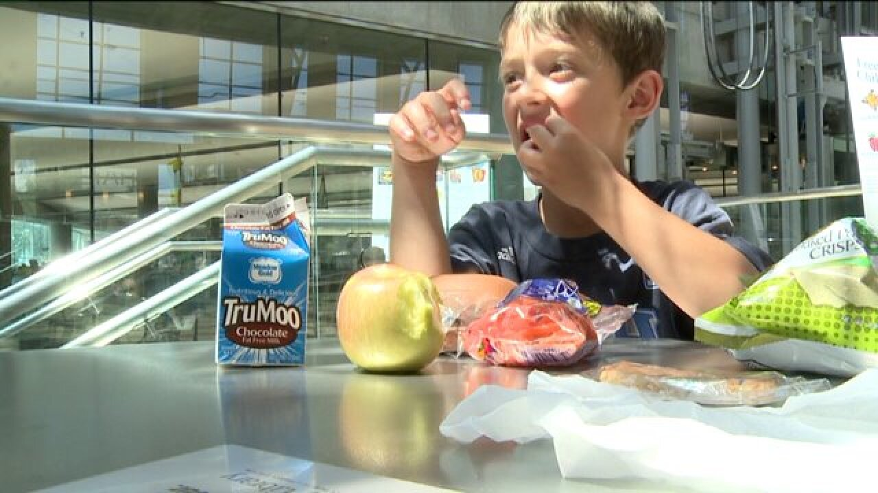 Program provides meals for kids during summer months