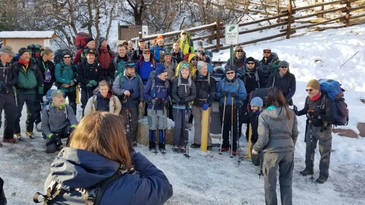 AdAmAn climbers pack for changing weather
