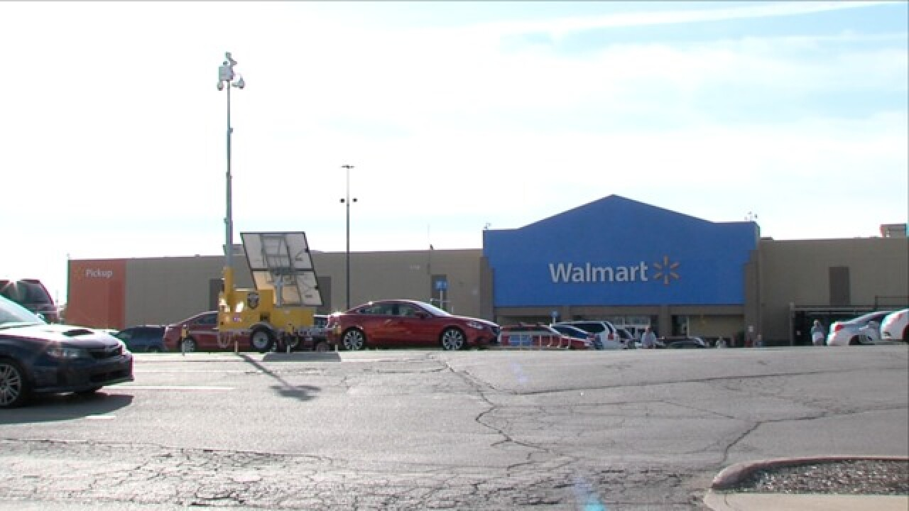 Walmart using 'Lot Cop' cameras to reduce crime