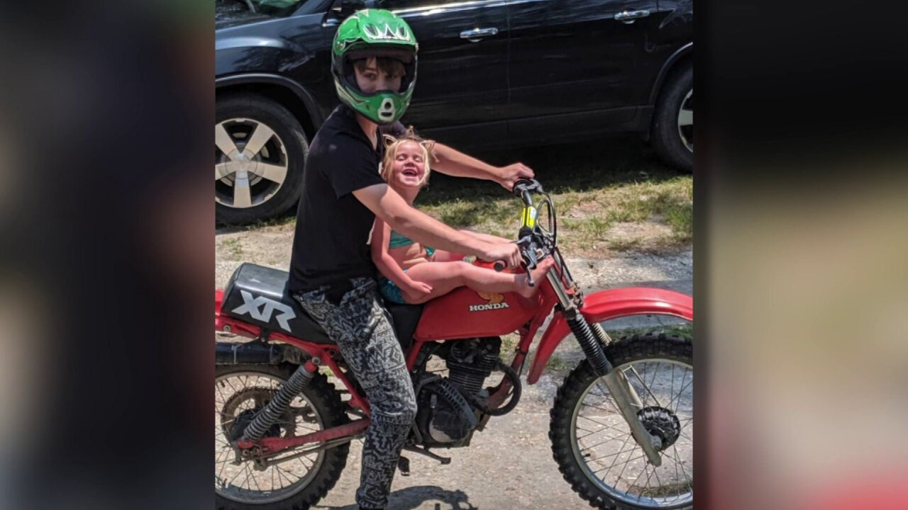 'Return it right now' 8-year-old Suffolk girl pleads with thieves to give back dirt bikes