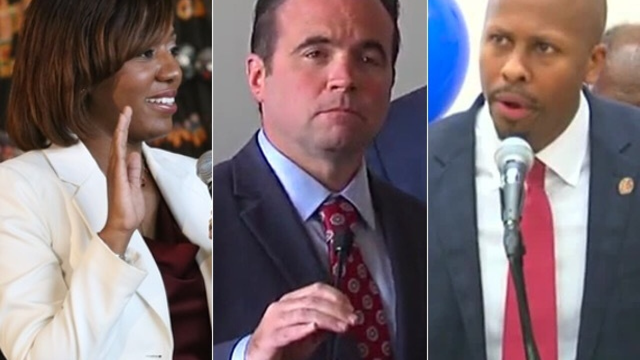 Tell WCPO your top question for mayoral candidates John Cranley, Rob Richardson and Yvette Simpson