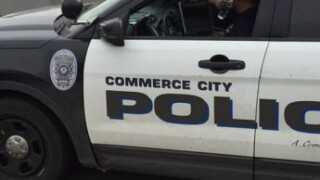 Commerce City police car