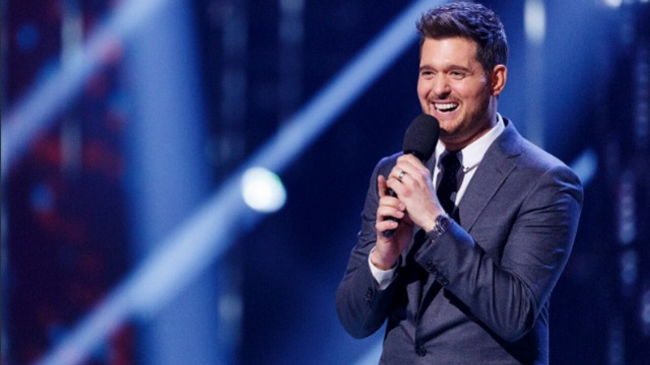 Michael Bublé will bring U.S. tour to Tampa on February 13