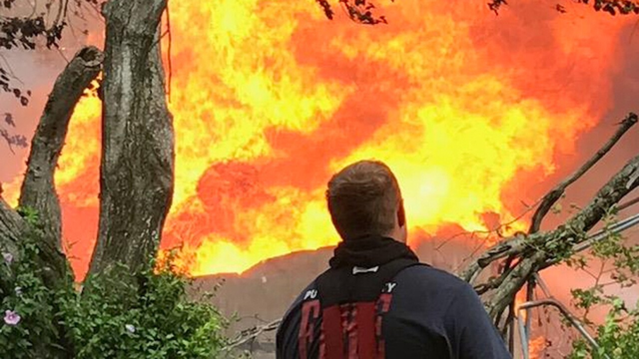 Crews Fight Fire At Monterey Abandoned House