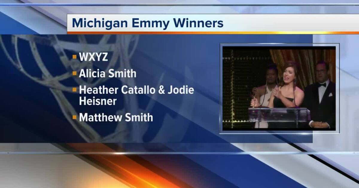 WXYZ staff earns 9 awards at 41st annual Michigan Emmy Awards