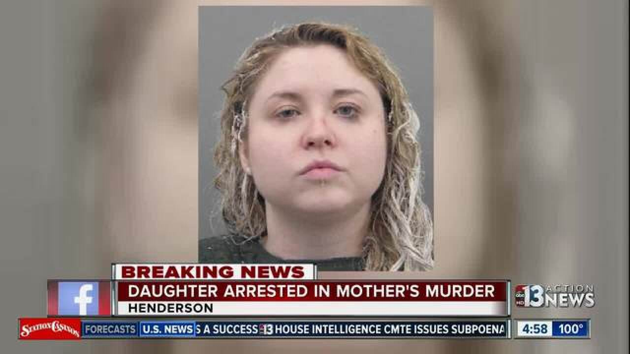 Henderson woman arrested in mother's death