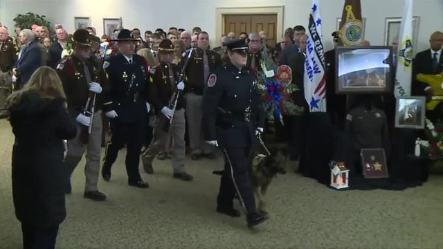 PHOTOS: Deputy Jacob Pickett honored with a flag ceremony & presentation