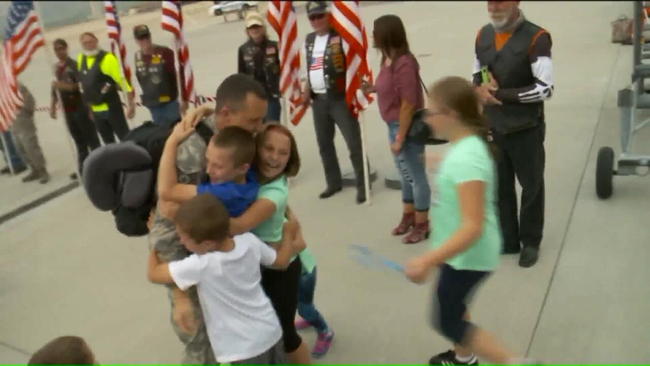 Utah Airmen return home after 6-month deploymentoverseas