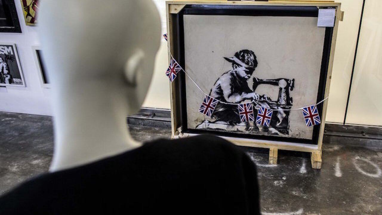 Artist vows to destroy Banksy work he bought for $730K
