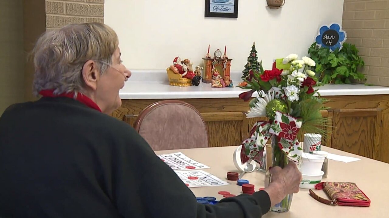 WQAD Christmas bouquets