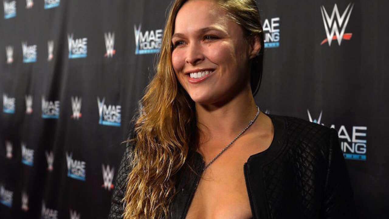 Ronda Rousey: Former judo and UFC star joins WWE