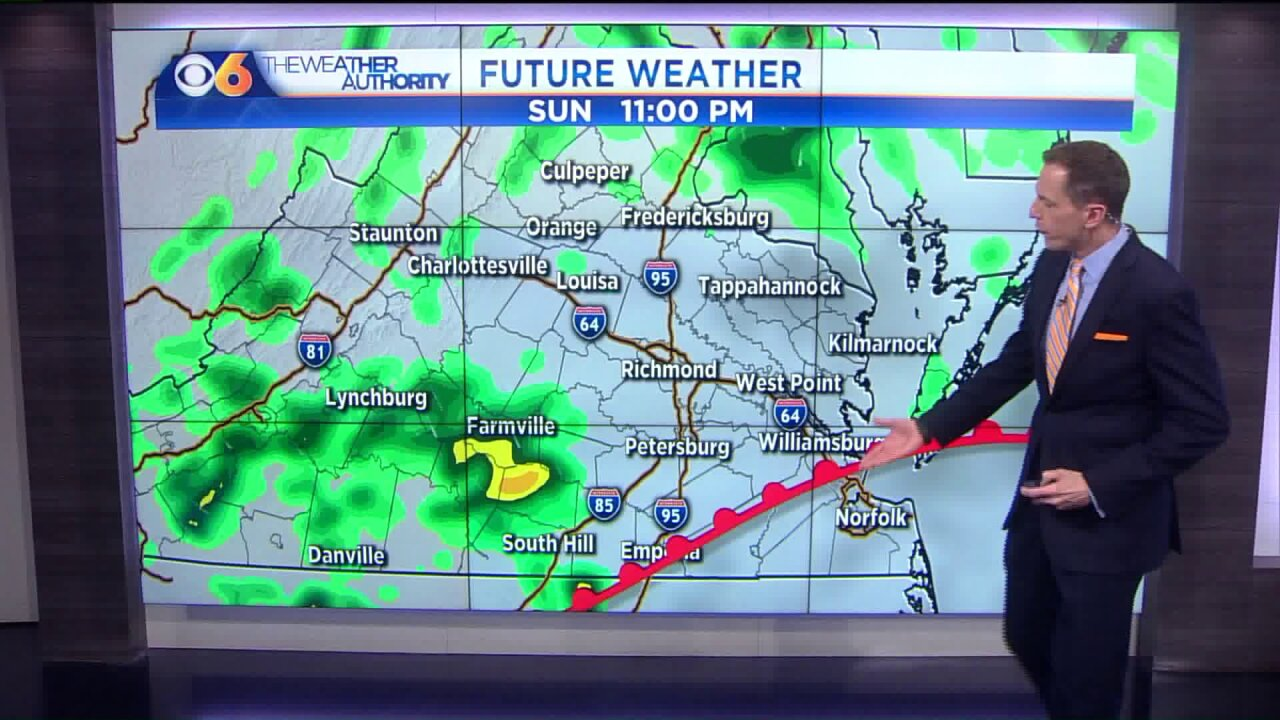 Here's when the wet and humid pattern willbreak