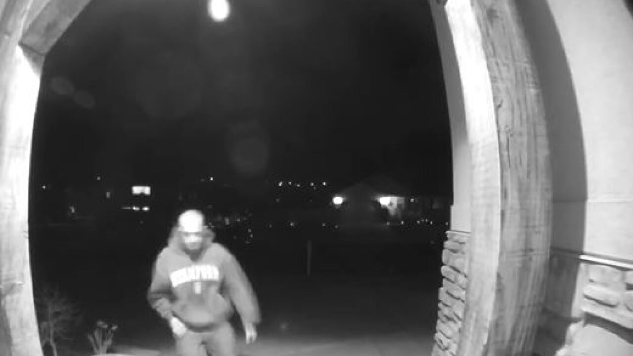 Springville Police ask for help identifying package thief