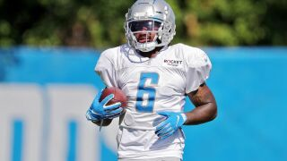 Lions RB Swift inactive with concussion against Texans