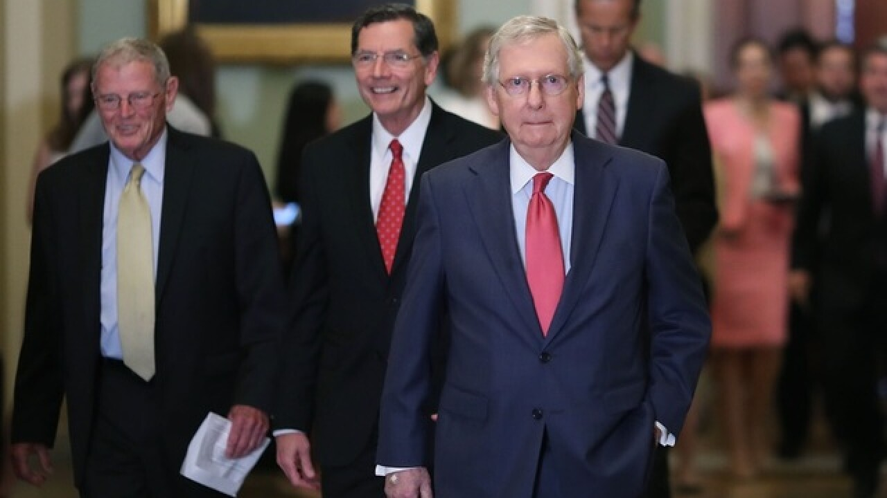 Senate Majority Leader Mitch McConnell on a mission to reshape the courts