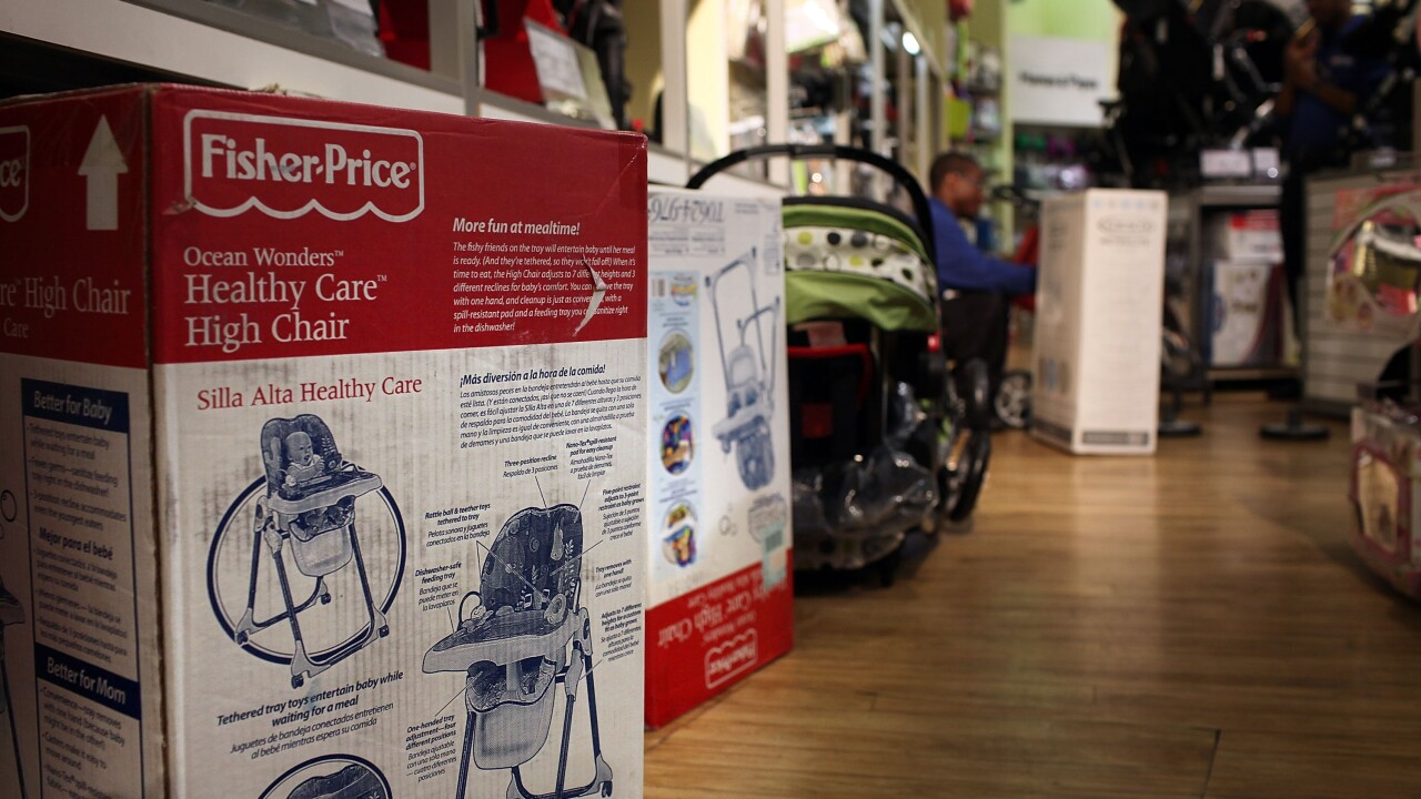Fisher-Price Recalls Millions Of Tricycles And Other Toys