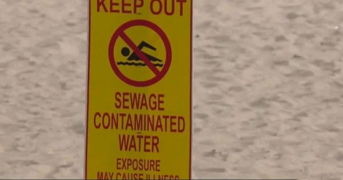 River sewage from Mexico closes California beach