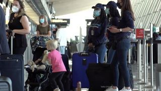 Sky Squad doesn't just help passengers with their luggage and rental cars, but also takes them from check-in, through security, all the way to the gate. The company plans to expand in to more airports this summer, as post-pandemic travel begins to pick up.