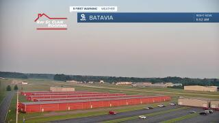 Batavia muted sunrise