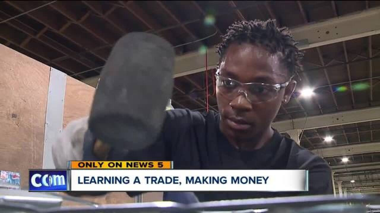 CMSD apprenticeship fast-tracks kids' careers