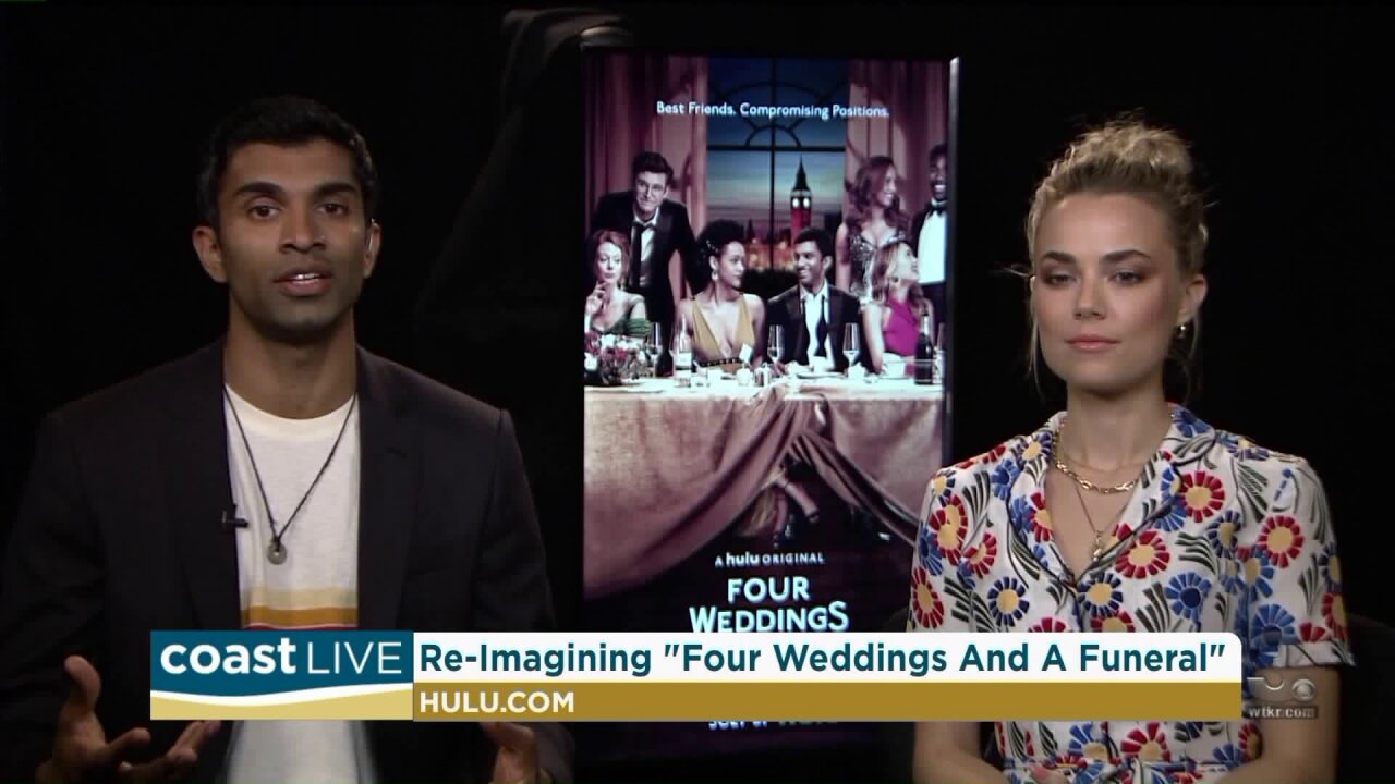 """The stars of Hulu's re-imagined """"Four Weddings and a Funeral"""" on CoastLive"""