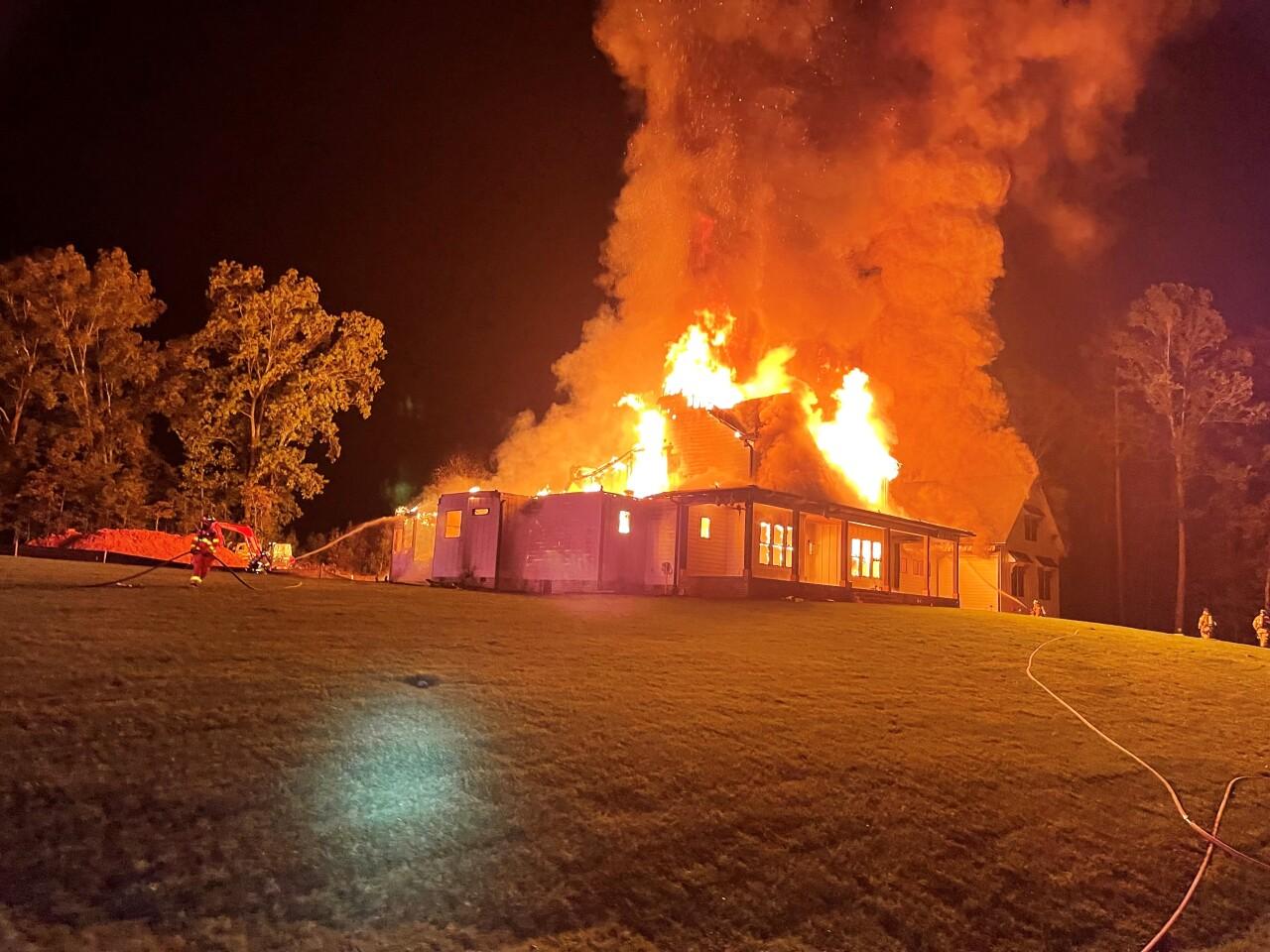 Goochland County Fire Rescue - Dover Branch Lane House Fire - October 8 2021 - 001.jpg