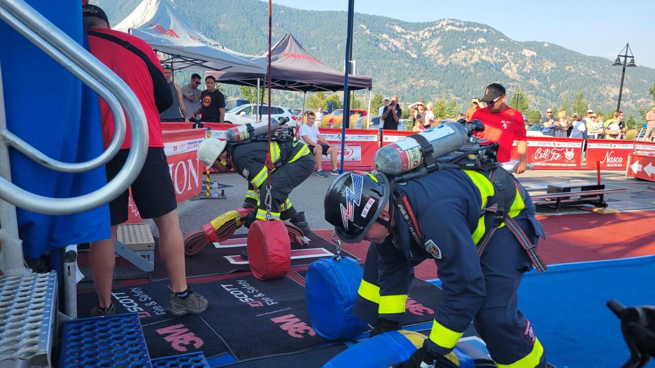 3M Scott Firefighter Combat Challenge comes to Big Sky