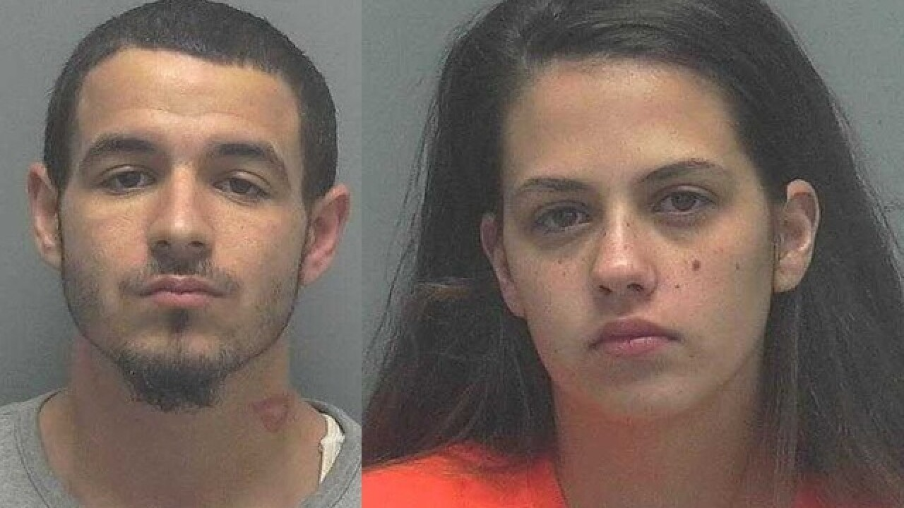 Three arrested on drug and weapons charges