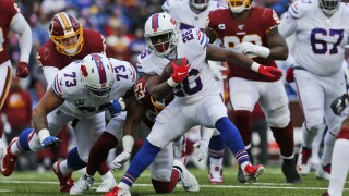 Redskins Bills Football