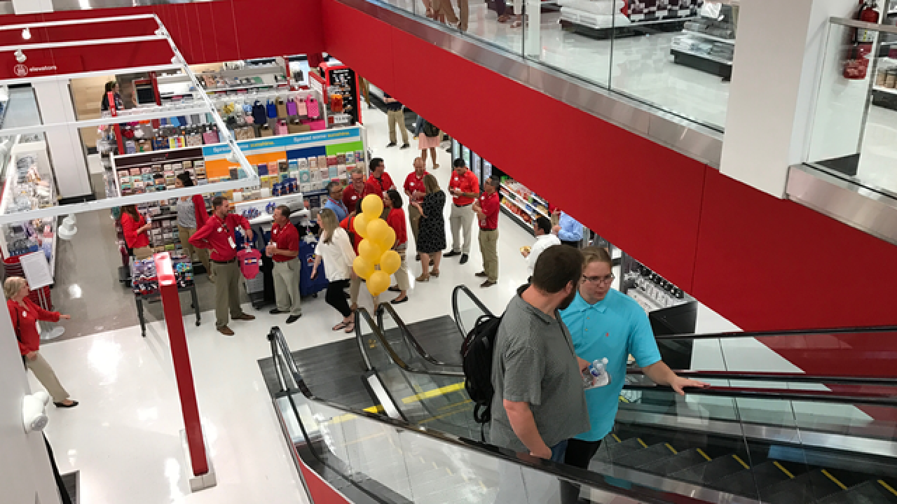Take a sneak peek at the Target store on 16th Street Mall