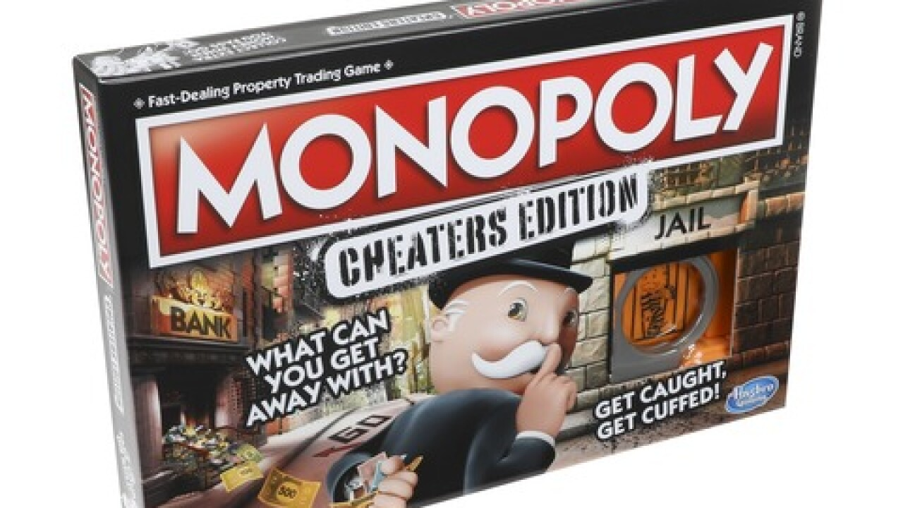Monopoly creates a game version for cheaters, complete with