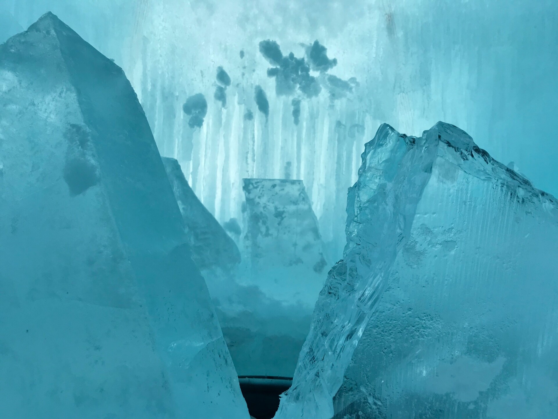 Lake Geneva's Ice Castles opened Wednesday after a nearly monthlong delay