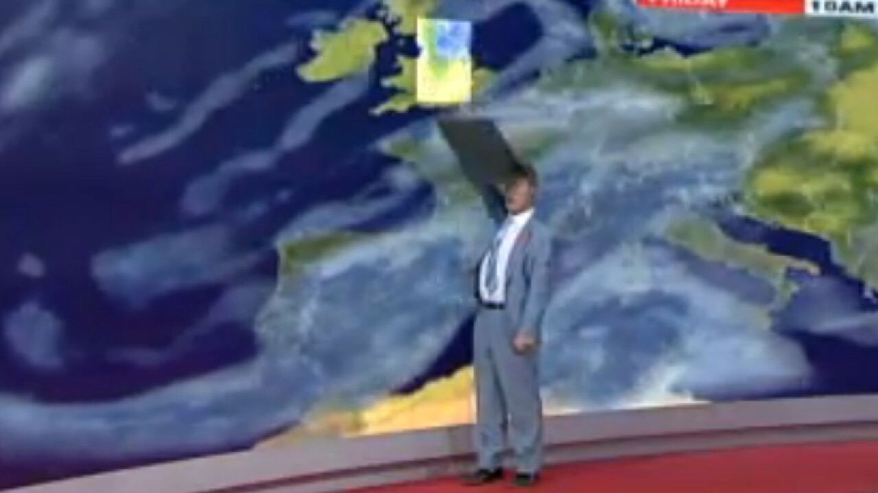 Top 5 weather bloopers