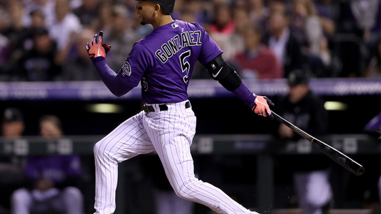 Marquez racks up K's, Rockies rout Phillies 14-0