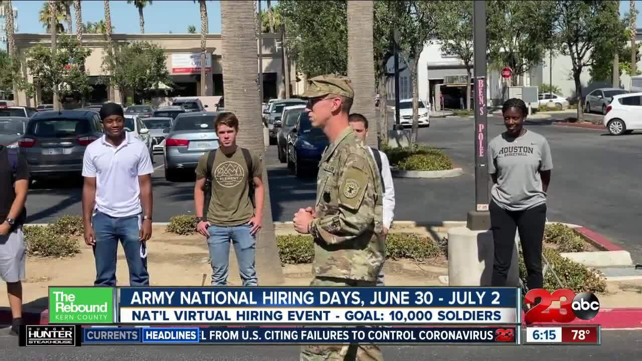 Army National Hiring Days