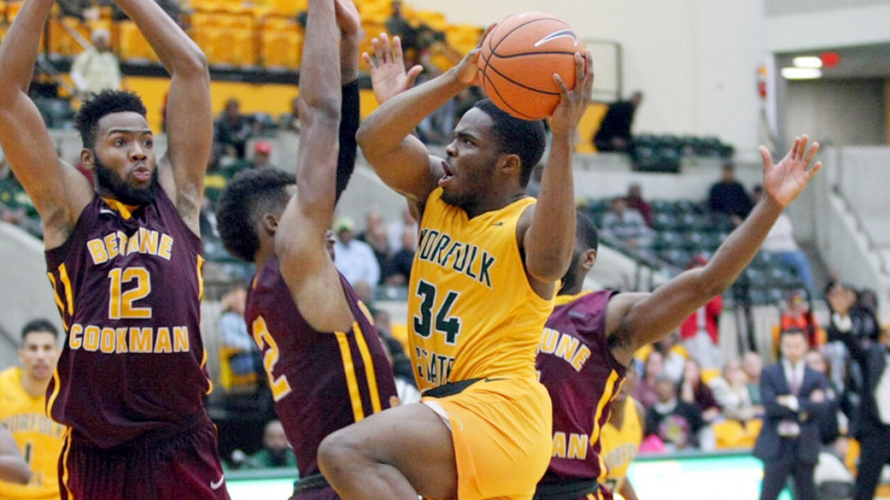 Steven Whitley's buzzer beater lifts Norfolk State past Bethune-Cookman