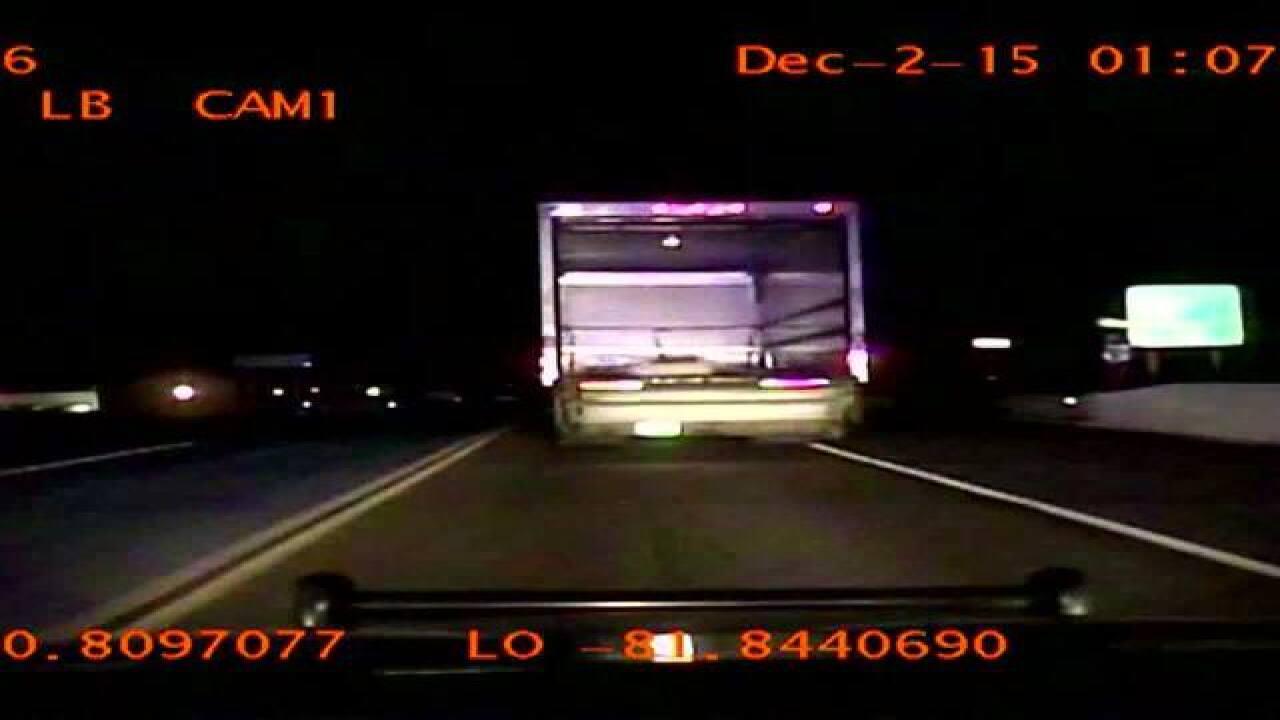 WATCH | Box truck suspect police chase, arrest