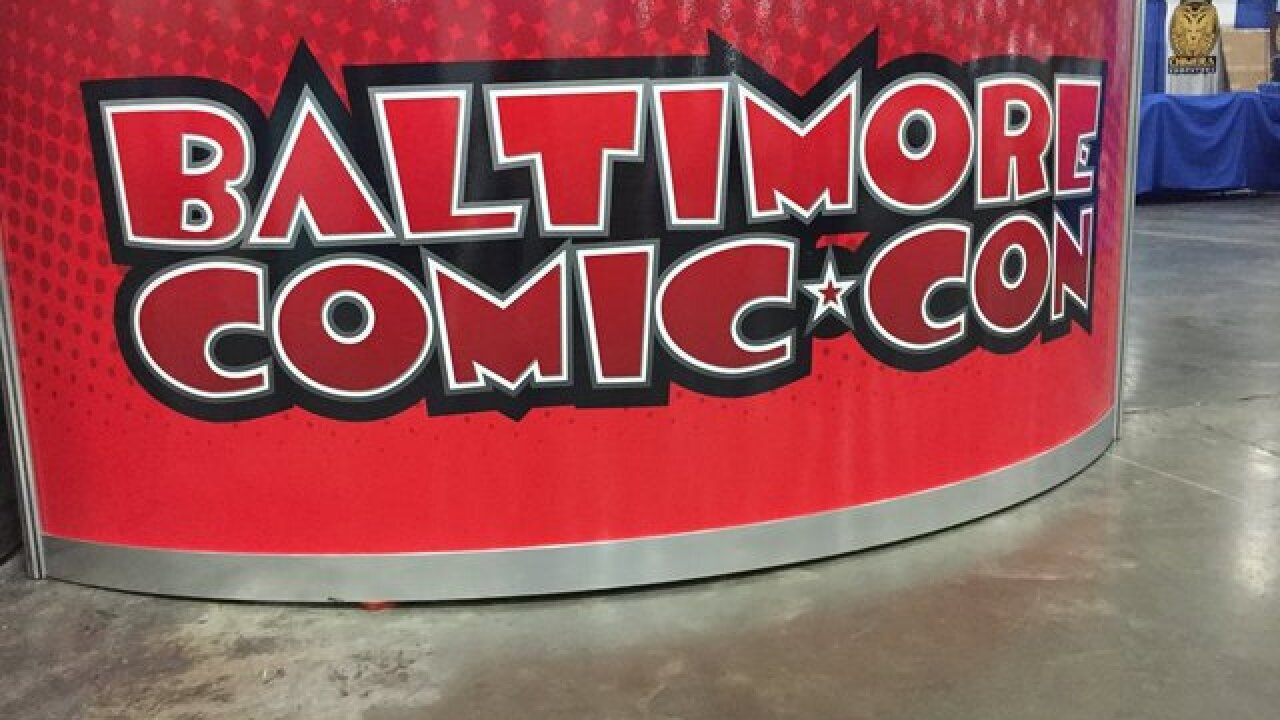 Comic-Con brings costumes and fun to Baltimore