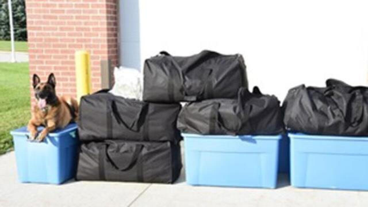More than 200 pounds of marijuana found during Omaha traffic stop